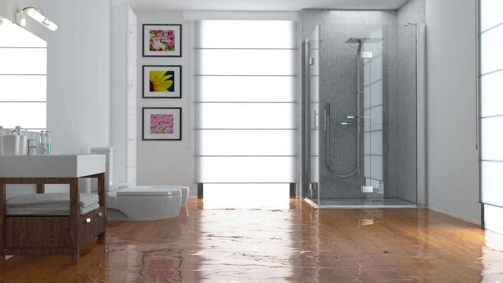 Bathroom Flooding With Water Damage - Water Damage Repair - SERVPRO Of West Pensacola - 3345 Addison Dr, Pensacola, FL 32504 - 850 469 1160 -servprowestpensacolafl.com