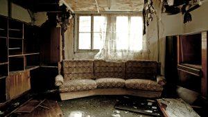 Living Room After A House Fire - Fire Damage Restoration - SERVPRO Of West Pensacola - 3345 Addison Dr, Pensacola, FL 32504 - 850 469 1160 -servprowestpensacolafl.com